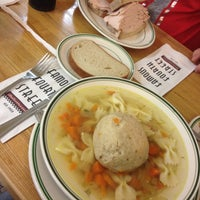 Photo taken at Famous 4th Street Delicatessen by Marie S. on 10/20/2012