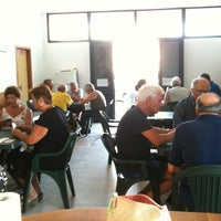 Photo taken at Sala Condominiale - Villaggio Marina di Lendinuso by Edoardo I. on 7/11/2013