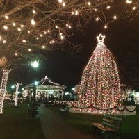 Photo taken at Collierville Town Square Park by Red B. on 12/20/2012
