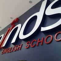 Photo taken at minds english school by Renan S. on 5/23/2013
