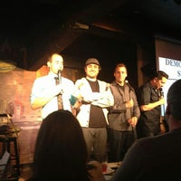 Photo taken at Helium Comedy Club by Erica on 3/27/2013