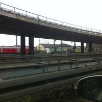 Photo taken at Jansenbrücke by Matthias M. on 3/19/2013