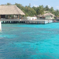 Photo taken at W Retreat & Spa - Maldives by Aminath H. on 4/8/2013