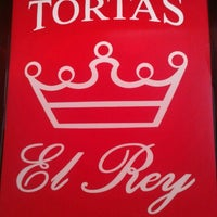 Photo taken at Tortas El Rey by Emilio V. on 9/23/2012