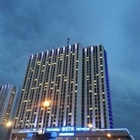 Photo taken at VEGA Izmailovo Hotel by Valentinka on 5/25/2013