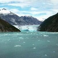 Photo taken at Dawes Glacier by Terri B. on 7/8/2016