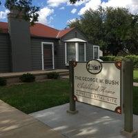 Photo taken at Geoge W Bush Childhood Home by Justin B. on 8/20/2017