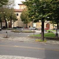Photo taken at Piazza Cardinale Niccolò by Lumacornio on 10/11/2012
