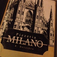 Photo taken at Milano Pizzeria by Léia S. on 4/27/2014