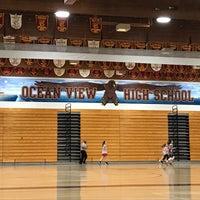 Photo taken at Ocean View High School by CJ Y. on 3/18/2018
