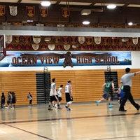 Photo taken at Ocean View High School by CJ Y. on 3/11/2018
