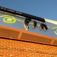 Photo taken at Fin Sushi & Sake Bar by Ginger H. on 10/19/2012