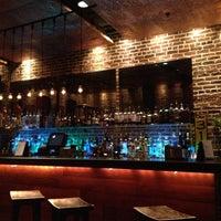 Photo taken at Mompou Tapas Bar & Lounge by Bisola T. on 3/6/2013