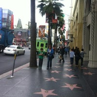 Photo taken at Hollywood Boulevard by Katerina V. on 12/12/2012