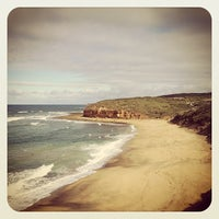 Photo taken at Bells Beach by Tony on 5/18/2013