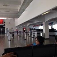 Photo taken at Aeropuerto Internacional Capitán FAP José A. Quiñones González (CIX) by Mario P. on 6/6/2015