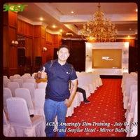 Photo taken at Gran Senyiur Hotel by Andi R. on 10/17/2012