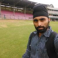 Photo taken at Lal Bahadur Shastri Stadium by Paramveer S. on 10/1/2013