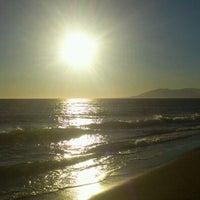Photo taken at Rincón de la Victoria Beach by Soluntic C. on 12/21/2012