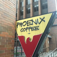 Photo taken at Phoenix Coffee by Damron C. on 8/14/2016