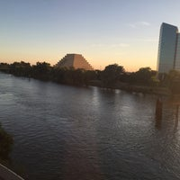 Photo taken at I Street Bridge by 💕Linds💕 on 8/10/2016