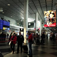 Photo taken at Air Berlin Check-In by Zoe M. on 5/5/2013