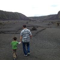 Photo taken at Kilauea Iki Floor by Stephanie T. on 5/25/2013