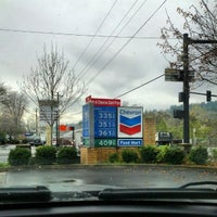 Photo taken at Chevron by Brian Diva Cox on 11/28/2012
