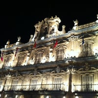 Photo taken at Plaza Mayor by Quique L. on 2/2/2013
