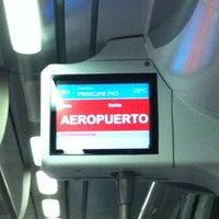 Foto tomada en Cercanías Aeropuerto T4 por Quique L. el 9/15/2012