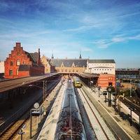 Photo taken at Helsingør Station by Bryan M. on 9/8/2013