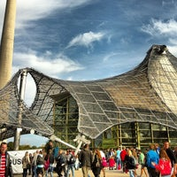 Photo taken at Olympiahalle by Bryan M. on 10/16/2012