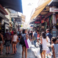 Photo taken at Athens Flea Market by Sabreen K. on 8/11/2016