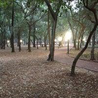 Photo taken at Parque Gandhi by Manuel H. on 1/7/2013