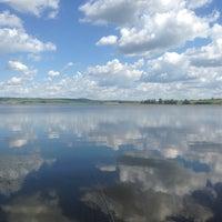 Photo taken at Нугушское водохранилище by Dmitry T. on 6/20/2014