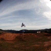 Photo taken at Pista Motocross Alemão by Pedro F. on 6/7/2014