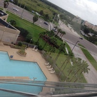 Photo taken at DoubleTree by Hilton Hotel Orlando Airport by Taru M. on 7/20/2013