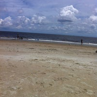 Photo taken at Tybee Curve Beach by Grayson D. on 7/20/2013