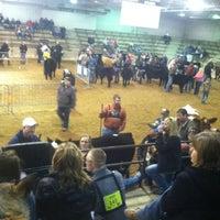Photo taken at Voinovich Livestock & Trade Center by Molly O. on 3/16/2013