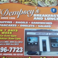 Photo taken at Dempsey's Breakfast and Lunch by Robbie L. on 6/21/2014