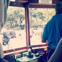 Photo taken at St. Charles Avenue Streetcar by Justin H. on 8/5/2013