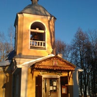 Photo taken at Церковь Покровская by E.S. on 3/8/2013