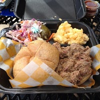 Photo taken at Curley's Q BBQ Food Truck & Catering by Tara J. on 8/16/2013