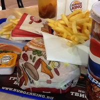Photo taken at Burger King by Maksim K. on 4/20/2012