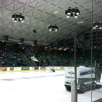 Photo taken at Thompson Arena at Dartmouth by Diana M. on 1/28/2012