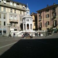 Photo taken at Piazza della Bollente by ROBERTO G. on 10/9/2011