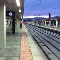 Photo taken at Estación de Segovia-Guiomar by Ricardo C. on 3/1/2011