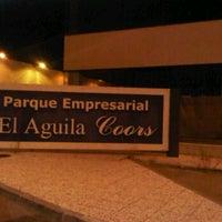 Photo taken at Poligono El Aguila by David E. on 10/13/2011