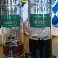 Photo taken at Café Einstein by Maria on 3/10/2012