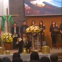 Photo taken at Gereja GKMI Anugerah by Susan S. on 6/3/2012